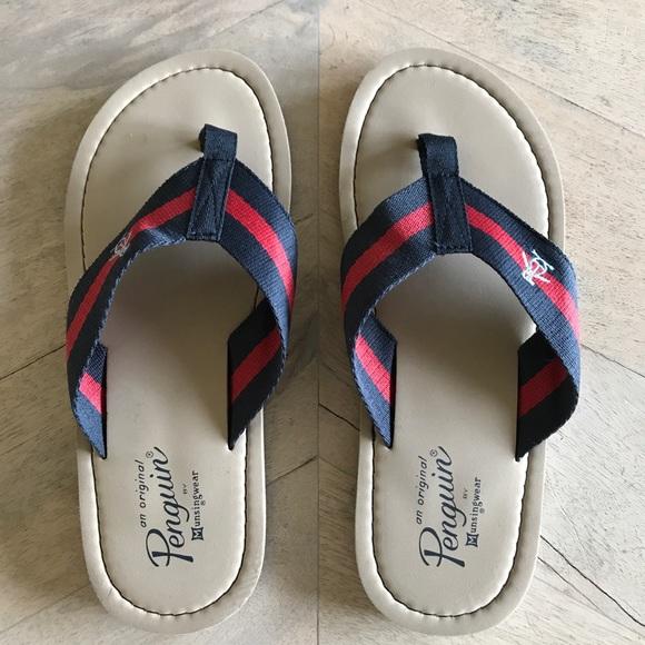 d5f8e1d8d9f0 Original Penguin Sandals. M 5adf52055521be027342aad3